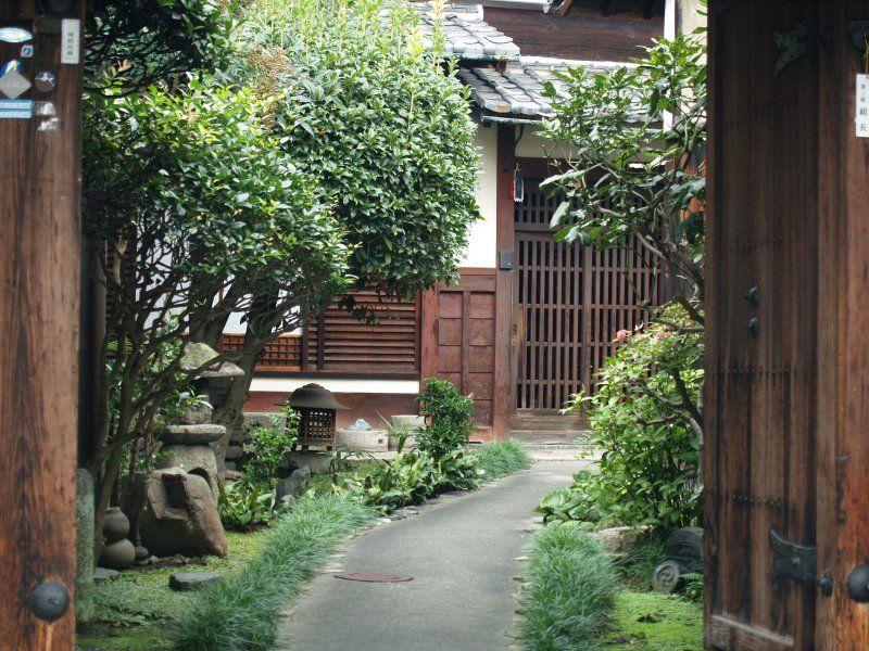 Jardin japonais org collection photo pour la creation for Porte exterieur de jardin