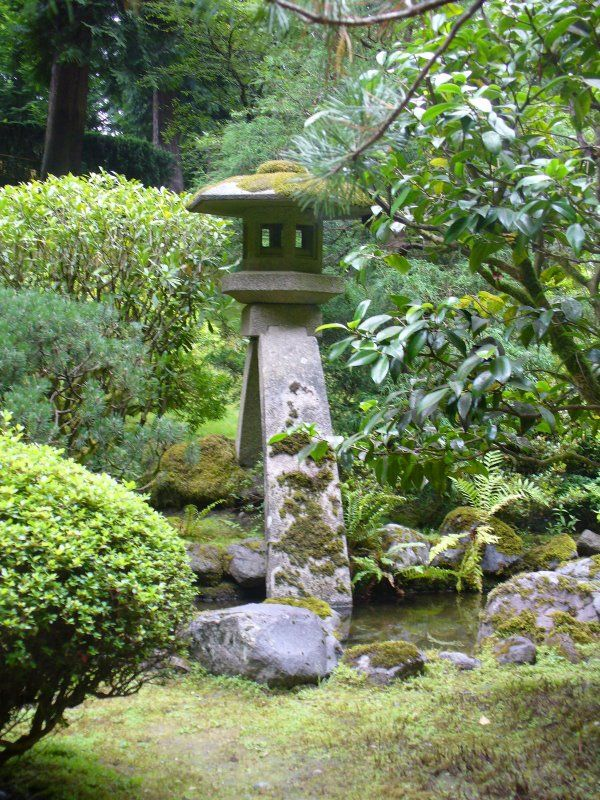 Jardin japonais org collection photo pour la creation for Lampe jardin japonais