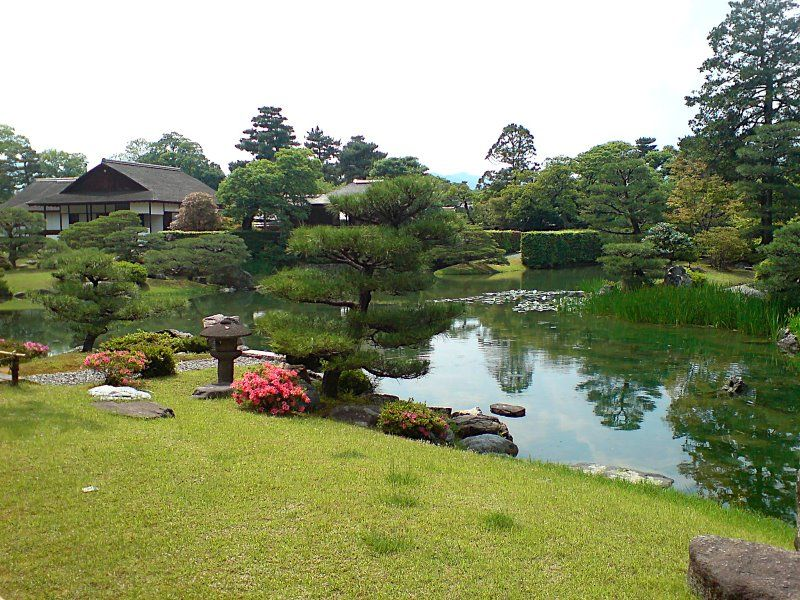 Japanese Garden Kyoto Japan Hot Girls Wallpaper